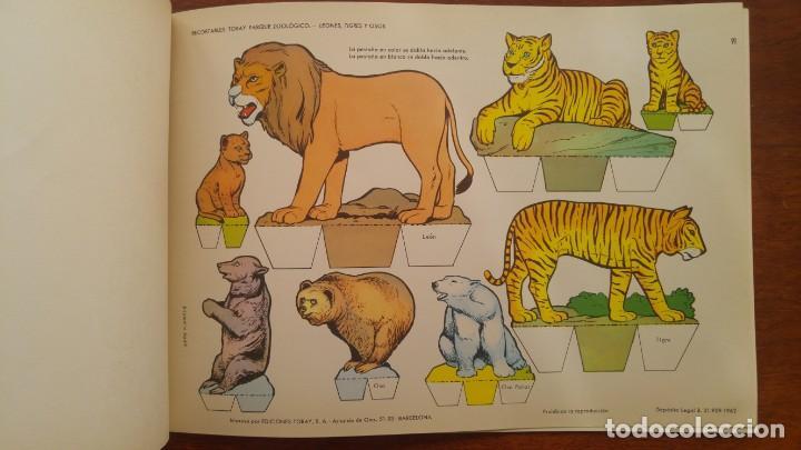 Coleccionismo Recortables: RECORTABLES TORAY GRUPO 12º PARQUE ZOOLOGICO .AÑO 1962 - Foto 13 - 151604602