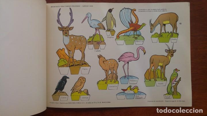 Coleccionismo Recortables: RECORTABLES TORAY GRUPO 12º PARQUE ZOOLOGICO .AÑO 1962 - Foto 15 - 151604602