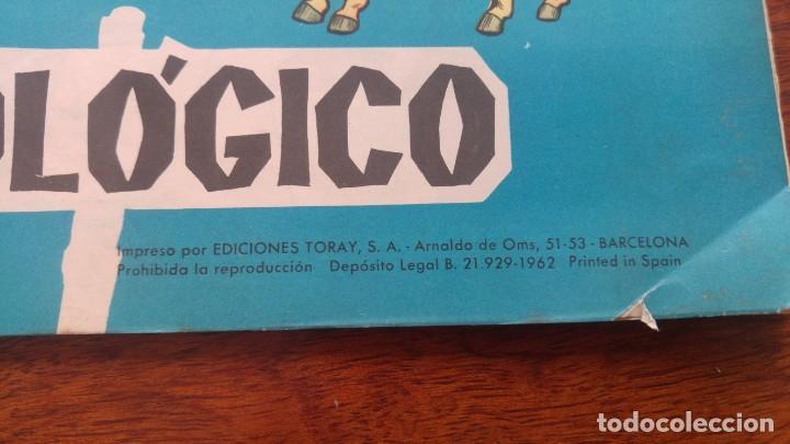 Coleccionismo Recortables: RECORTABLES TORAY GRUPO 12º PARQUE ZOOLOGICO .AÑO 1962 - Foto 2 - 151604602