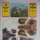 Coleccionismo Recortables: DOS ELEFANTES ROLLAN ANIMALES DEL ZOO Nª2. Lote 152137282