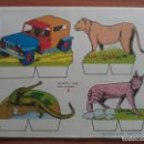 Coleccionismo Recortables: RECORTABLE BABY SERIE ANIMALES Nº 8. Lote 162122406