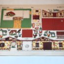 Coleccionismo Recortables: LAMINA RECORTABLE SERIE IMPERIO N10 - GRANJA. Lote 166837184