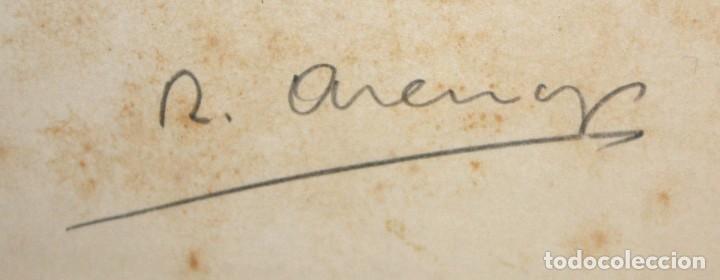 Coleccionismo Recortables: EL PINTOR RICARD ARENYS - FELICITACIÓN DE NAVIDAD - 1965. - Foto 2 - 171745560