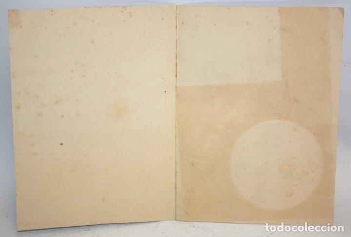 Coleccionismo Recortables: EL PINTOR RICARD ARENYS - FELICITACIÓN DE NAVIDAD - 1965. - Foto 4 - 171745560