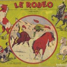 Coleccionismo Recortables: RECORTABLE FRANCÉS LE RODEO EDIT.COSMOS. Lote 182515293