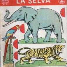 Coleccionismo Recortables: LUIS MALLAFRÉ . LA SELVA RECORTES TRIS TRAS - EDITORIAL ROMA. Lote 182750347