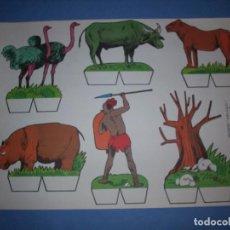 Coleccionismo Recortables: RECORTES KIKI LOLO SERIE ANIMALES Nº 2. Lote 190073118