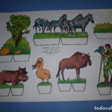 Coleccionismo Recortables: RECORTES KIKI LOLO SERIE ANIMALES Nº 3. Lote 190073176