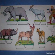 Coleccionismo Recortables: RECORTES KIKI LOLO SERIE ANIMALES Nº 7. Lote 190073376