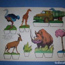 Coleccionismo Recortables: RECORTES KIKI LOLO SERIE ANIMALES Nº 9. Lote 190073448