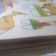 Coleccionismo Recortables: LOTAZO DE 80 RECORTABLES. Lote 199523778