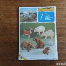 Coleccionismo Recortables: ANIMALES DE ZOOLOGICO RECORTABLES SCHREIBERS DEKORATIVE MODELLE. Lote 203333383