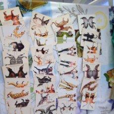 Coleccionismo Recortables: 38 FIGURAS DE SAFARIS RECORTABLES. Lote 205542956
