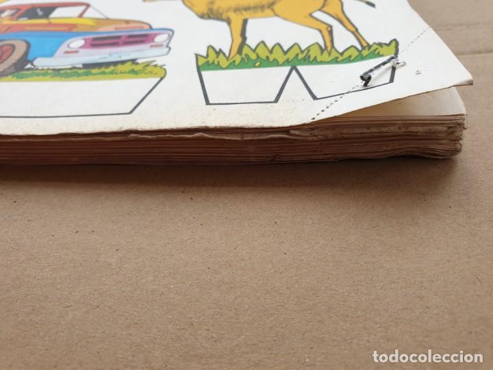 Coleccionismo Recortables: kiki - lolo serie animales, cuaderno con 53 hojas recortables de editorial Roma. Año 1970 - Foto 16 - 209715645