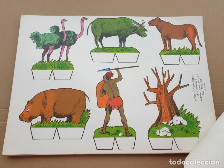 Coleccionismo Recortables: kiki - lolo serie animales, cuaderno con 53 hojas recortables de editorial Roma. Año 1970 - Foto 13 - 209715645