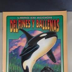 Coleccionismo Recortables: LIBRO EN ACCION DELFINES Y BALLENAS RECORTABLES EDITORIAL SUSAETA. Lote 230621810