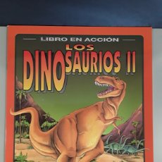 Coleccionismo Recortables: LIBRO RECORTABLE EN ACCION LOS DINOSAURIOS II EDITORIAL SUSAETA. Lote 230622960