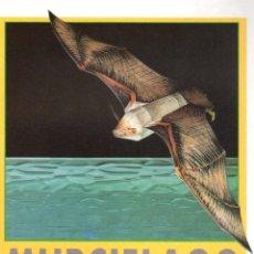 Coleccionismo Recortables: RECORTABLE MURCIÉLAGO PESCADOR. RIALP 1990. Lote 232748455