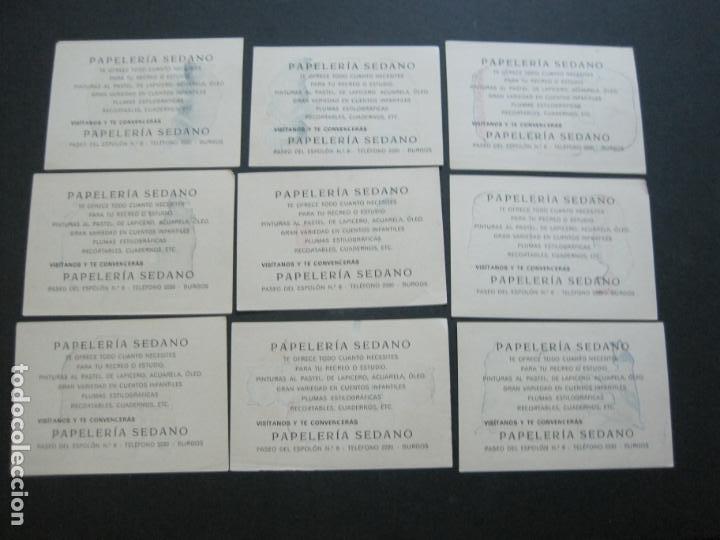 Coleccionismo Recortables: HISTORIA NATURAL INFANTIL-COLECCION DE 20 CROMOS RECORTABLES-PAPELERIA SEDANO-VER FOTOS-(76.902) - Foto 5 - 236022495