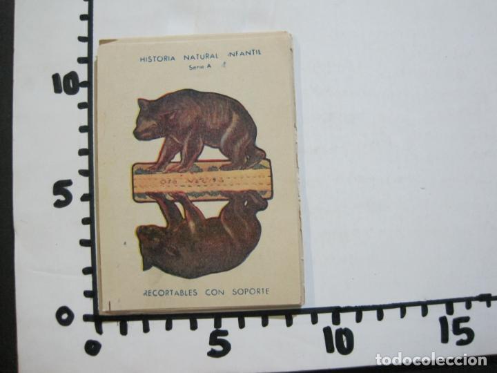 Coleccionismo Recortables: HISTORIA NATURAL INFANTIL-COLECCION DE 20 CROMOS RECORTABLES-PAPELERIA SEDANO-VER FOTOS-(76.902) - Foto 8 - 236022495