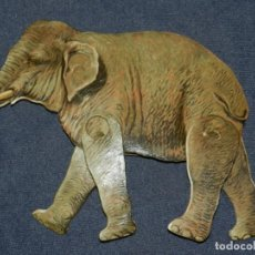 Coleccionismo Recortables: (M) EL ELEFANTE NUM 17 , SUCESORES DE HERNANDO , MADRID , ANIMALES MOVIBLES , 25 X 18 CM. Lote 241065490