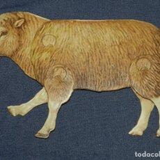 Coleccionismo Recortables: (M) EL CARNERO Y LA OVEJA NUM 9 , SUCESORES DE HERNANDO , MADRID , ANIMALES MOVIBLES , 25 X 18 CM. Lote 241065615