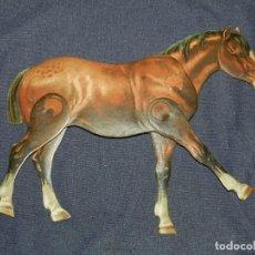 Coleccionismo Recortables: (M) EL CABALLO NUM 4 , SUCESORES DE HERNANDO , MADRID , ANIMALES MOVIBLES , 25 X 20 CM. Lote 241065745