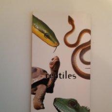 Colecionismo Recortáveis: RESERVADO CARTA NESTLE JUNGLY REPTILES.. Lote 247462285