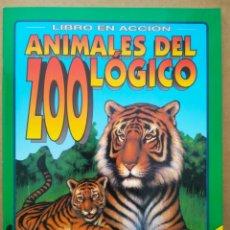 Coleccionismo Recortables: LIBRO EN ACCIÓN: ANIMALES DEL ZOOLÓGICO (SUSAETA, 1993). ILUSTRACIONES DE DANIEL SMITH.. Lote 258844200