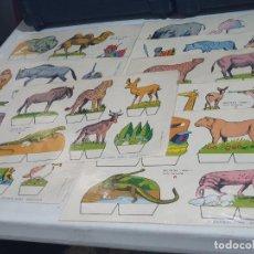 Coleccionismo Recortables: RECORTABLES BABY SERIE ANIMALES COLECCIÓN ENTERA. Lote 271832418