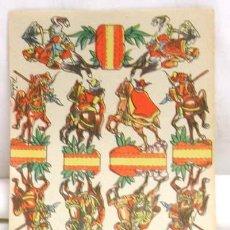 Coleccionismo Recortables: RECORTABLE EDICIONES RIBAS HORDAS TARTARAS 16 CM X 11 CM. Lote 4085594