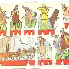 Coleccionismo Recortables: RECORTABLE EDICIONES ROMA RECORTES ROSITA SERIE OESTE Nº 3 17,5 CM X 12,5 CM. Lote 4086087
