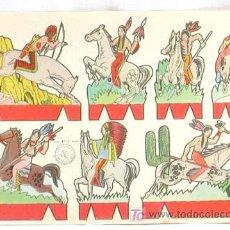 Coleccionismo Recortables: RECORTABLE EDICIONES ROMA RECORTES ROSITA SERIE OESTE Nº 7 17,5 CM X 12,5 CM. Lote 4086103