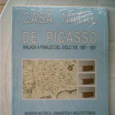 Coleccionismo Recortables: MAQUETA DE LA CASA NATAL DE PICASSO MÁLAGA. PRECINTADA . Lote 10976952
