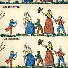 Coleccionismo Recortables: RECORTABLE LOS INOCENTES, TIENE 4 TIRAS, MUY ANTIGUO, 45X34 CTS.. Lote 4713127