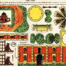 Coleccionismo Recortables: RECORTABLE EDICIONES LA TIJERA, SERIE 10, Nº 202 CASA TURCA. Lote 4719801