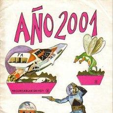 Coleccionismo Recortables: AÑO 2001 RECORTABLES ( BAUSÁN S.A. ) ORIGINALES 1979. Lote 27225885