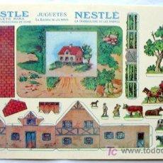 Coleccionismo Recortables: RECORTABLES - JUGUETES NESTLE. Lote 7482565