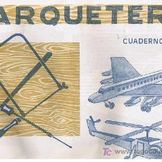 Coleccionismo Recortables: CUADERNO DE MARQUETERIA Nº 35. Lote 27630403
