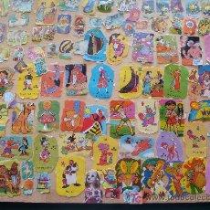 Coleccionismo Recortables: MÁS DE 100 RECORTABLES DISTINTOS. MUSICOS, MOWGLI, PEPITO GRILLO, CAPITÁN GARFIO, ANIMALES , . Lote 7364037