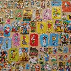Coleccionismo Recortables: MÁS DE 100 RECORTABLES DISTINTOS. GEPETTO, PETER PAN, CAMPANILLA, MICKEY, REYES MAGOS, . Lote 7364050