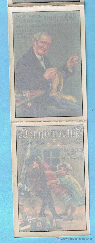 Coleccionismo Recortables: ÁLBUM CALCOMANÍA. REGALO DE LAS FÁBRICAS DE SEDAS PARA COSER GUTERMANN. 6 CALCOMANIAS/CARTELES, S/F. - Foto 2 - 24968175