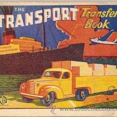 Coleccionismo Recortables: THE TRANSPORT TRANSFER BOOK,ESTE TIENE UNA TIRA DE 45 X 7,5CM,EN LA QUE HAY 6 BONITAS CALCAMONIAS -. Lote 15256024