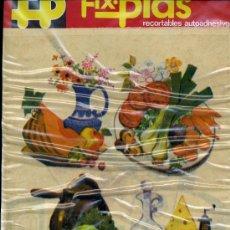 Coleccionismo Recortables: RECORTABLES AUADHESIVOS, FIX.PLAS. Lote 8921331