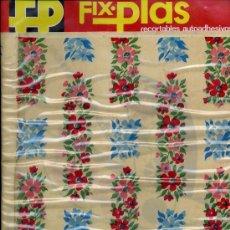 Coleccionismo Recortables: RECORTABLES AUADHESIVOS, FIX.PLAS. Lote 8921417