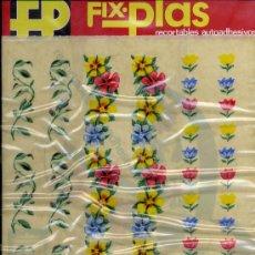 Coleccionismo Recortables: RECORTABLES AUADHESIVOS, FIX.PLAS. Lote 8921528