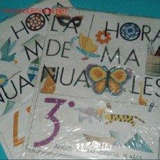 Coleccionismo Recortables: HORA DE MANUALIDADES 2 LIBROS. Lote 24379851