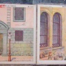 Coleccionismo Recortables: ACCESORIOS DE TEATRO - CARCEL FONDO Y BASTIDORES- 2 RECORTABLE ,Nº 510- V I B. Lote 26532238