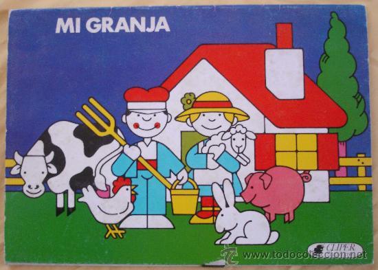 MI GRANJA - CLIPER - PLAZA Y JANES. (Coleccionismo - Otros recortables)