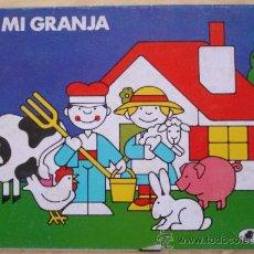 Coleccionismo Recortables: MI GRANJA - CLIPER - PLAZA Y JANES.. Lote 26438778